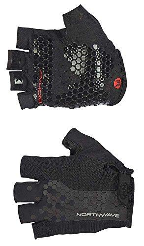 Northwave Grip Fahrrad Handschuhe kurz schwarz 2019: Größe: XXL (11)