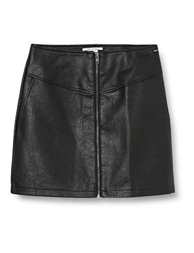 Pepe Jeans Samantha Falda, Negro (Black 999), 18 para Niñas