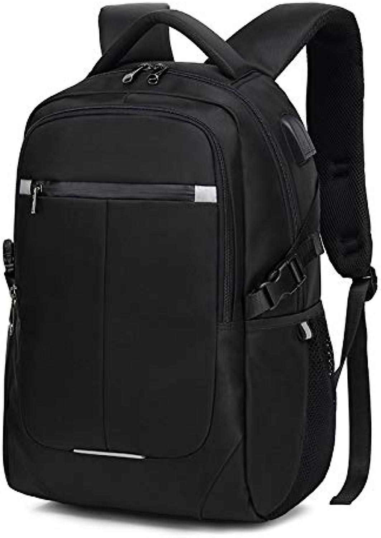 SODIAL 8806 Large Capacity Travel Backpack Laptop 15.6 Inch USB Charging Waterproof Men Backpack Notebook Casual Womens Backpack Bag