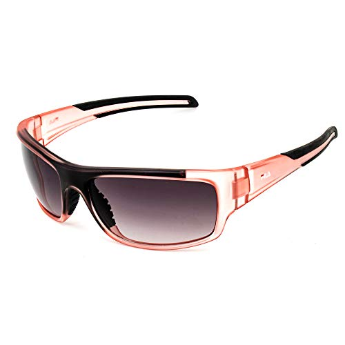 Fila SF23062PNK Gafas, Satin Pink+Brown, 62/17/125 Unisex Adulto