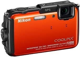 Nikon COOLPIX AW110 Wi-Fi and Waterproof Digital Camera with GPS (Orange) (OLD MODEL)