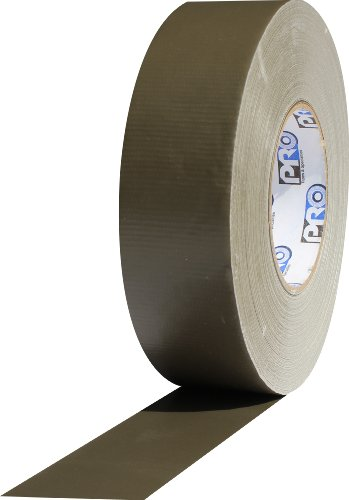 ProTapes Pro Duct 132 PE-Coated Cloth Heavy Grade Duct Tape, 60 yds Length x 2