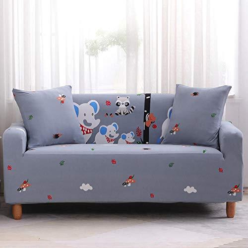 HXTSWGS Fundas de sofá,Asiento de Amor,Funda de sofá elástica, Funda de sofá de Banco de sofá de Silla elástica, Funda Protectora de Perro mascota-Color36_90-140cm