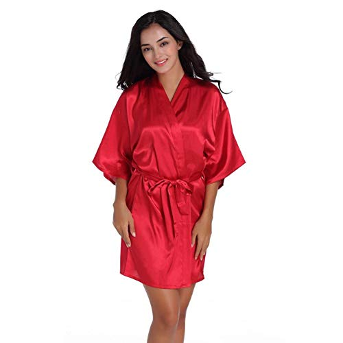 Crystallly Women'S Negligees Satijn Lange bandjes pyjama Zomer Halter Nek Nacht Eenvoudige Stijl Warm Schroeven Nacht Jurk Lingerie Jurk Slaapmode Topjes