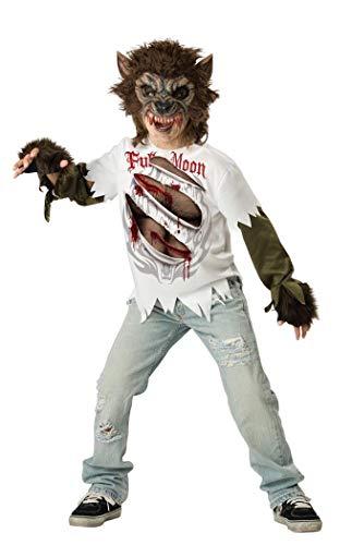 Wolfsjunge Werwolf Kostüm für Kinder - Gr. 146/152