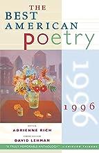 The Best American Poetry 1996