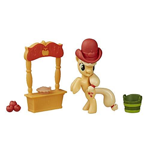 My Little Pony Amistad es magia historia Set Applejack Loves to Pick Manzanas