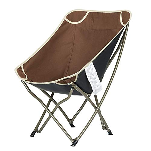 ZGYZ Moon Chair Portable Folding Chair Lounge Tube Ultra Light Beach Outdoor Lightweight,Compact Highly Portable For Patio Lawn Sports Events Picnic Camping Backpac