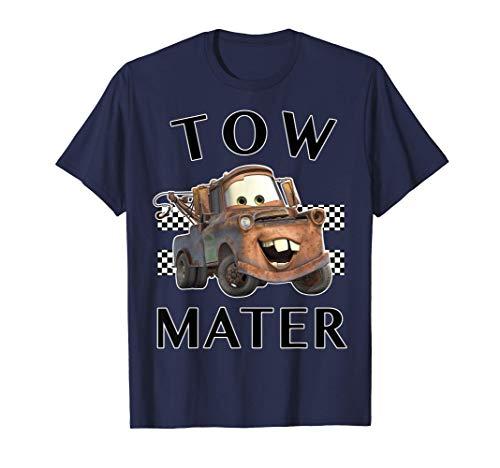 Disney Pixar Cars Tow Mater Finish Maglietta
