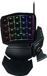 Razer Orbweaver Chroma RGB Beleuchtetes Mechanisches Gaming Keypad (30 Programmierbare Tasten, Anpassbare Hand- und Gelenkstütze)