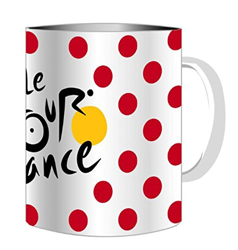 Le Tour de France Becher, gepunktet, offizielle Kollektion