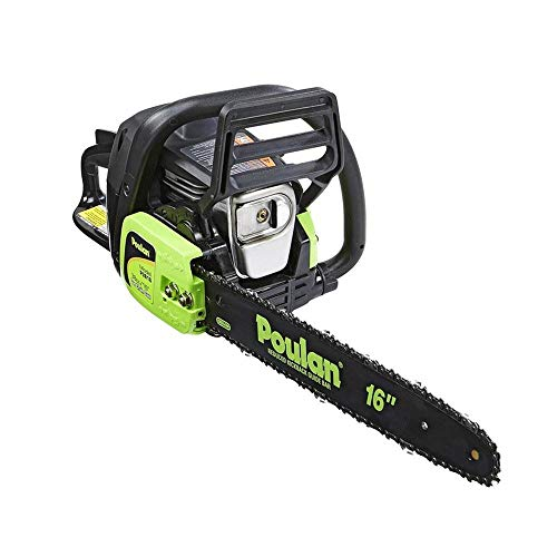 Poulan 967146301 P3816 38cc Fully Assembled Chainsaw, 16-Inch