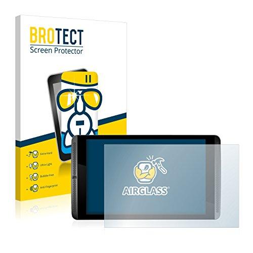 BROTECT Panzerglas Schutzfolie kompatibel mit Nvidia Shield Tablet - AirGlass, 9H Härte, Anti-Fingerprint, HD-Clear