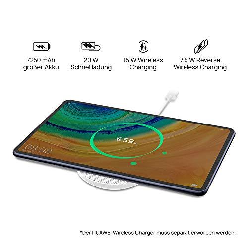 HUAWEI MatePad Pro WiFi Tablette PC 27,43 cm (10,8 Pouces), résolution 2,5K Kirin 990, 8 Go de RAM, 256 Go de mémoire Interne, Android 10, EMUI 10.1, avec 5 € Amazon Gutschein, Midnight Gray