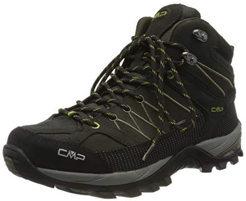 CMP – F.lli Campagnolo Herren Rigel Mid Shoe Wp Trekking- & Wanderstiefel, Braun (Espresso-Cactus 02QE), 41 EU