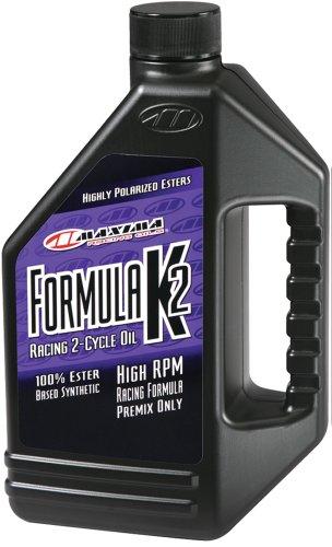 Maxima 22916 Formula K2 2-Takt Synthetisches Racing Premix Öl – 473 ml Flasche
