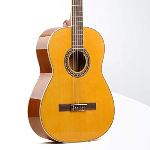 Akoestische gitaar Akoestische gitaar 39 inch klassieke houten gitaar Ultradunne Veneer Nylonsnarige Beginner Piano Met Water-proof Bag Tuner, 2 kleuren Full size stalen snarige akoestische gitaar