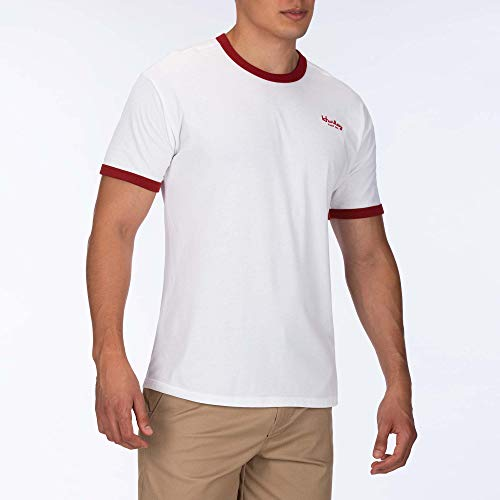 Hurley M Dri-Fit Harvey Ringer S/S Hauts Homme, White, FR (Taille Fabricant : XL)