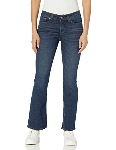 Signature by Levi Strauss & Co. Gold Label Women's Totally Shaping Bootcut Jeans, Blue Laguna, 10