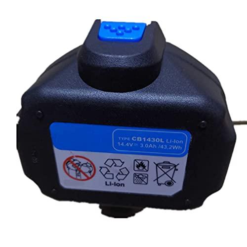 Backupower Batería de repuesto CB1430L compatible con B1430L Rothenberger 1.5418 Holger Clasen LiA-.34 14.4V 5000mAh