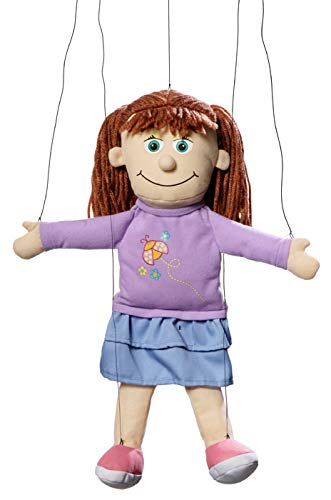 Amy Peach Girl Marionette String Puppet