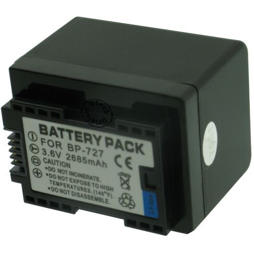 Otech Batteria Compatibile per Canon LEGRIA HF R68