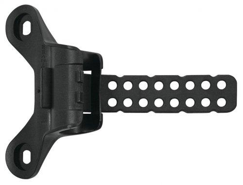 SKS Unisex– Erwachsene Pumpenhalter 2- Punkt Raceday Fahrradpumpe, schwarz, 1size