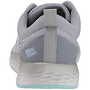 New Balance Women's Fresh Foam Arishi V3 Running Shoe, Grey/Teal, 8 M US