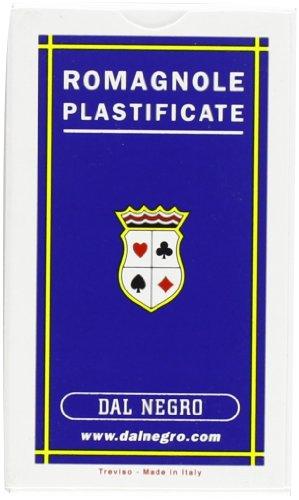 Dal Negro 10038 - Romagnole Carte da Gioco Regionali, Astuccio Blu