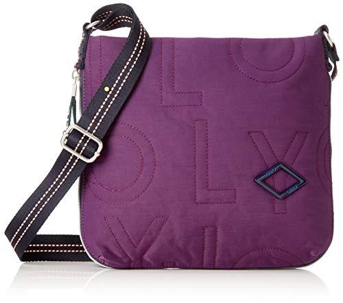 Oilily Damen Spell Shoulderbag Mhz Schultertasche Violett (Purple)