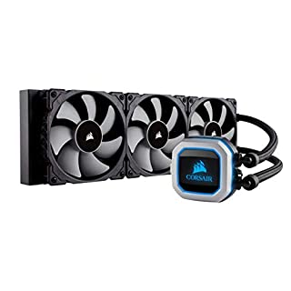 Corsair H150i Serie Hydro PRO RGB, Sistema di Raffreddamento a Liquido, Radiatore da 360 mm, Tre Ventole PWM Serie ML da 120 mm, l'Illuminazione RGB, Compatibile con Socket Intel 115x/2066 e AMD AM4 (B077FZPCRH) | Amazon price tracker / tracking, Amazon price history charts, Amazon price watches, Amazon price drop alerts