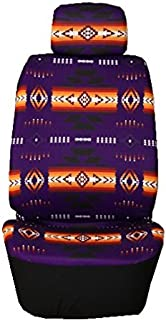 Nu Trendz Southwest Design/Navajo Print Car Seat Cover Set (Purple)
