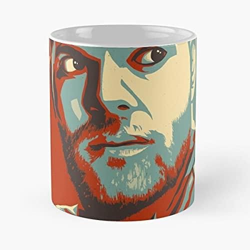 Sci Opa Rocinante Burton Amos The Fi Expanse Mars - The best 11oz White marble ceramic coffee mug I Customize