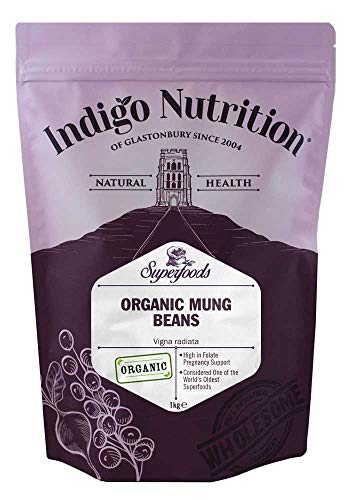 Indigo Herbs Bio Mungobohnen 1kg