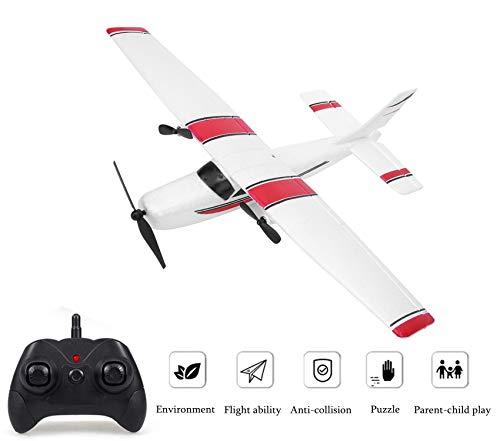 Ferngesteuertes Flugzeug für Kinder & Erwachsene, 2,4 GHz RC Flugzeug Modellflugzeug Ferngesteuert, 6-Achsen-Kreisel, Radio Control Flugzeug Hubschrauber Spielzeug, Einfach zu Fliegen für Anfänger