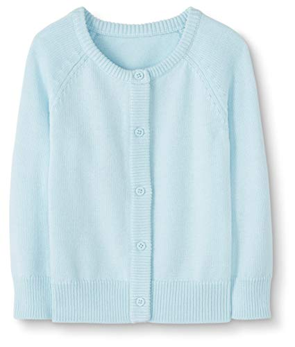 Moon and Back Baby Toddler Cardigan Sweater Infant-And Sweaters, Turchese Chiaro, 12-18 Mesi