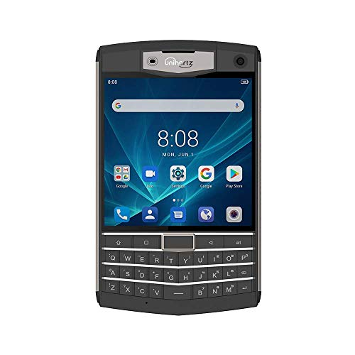 Unihertz Titan 6GB+128GB, Rugged QWERTY Smartphone, Android 9.0 Unlocked Smart Phone, Black