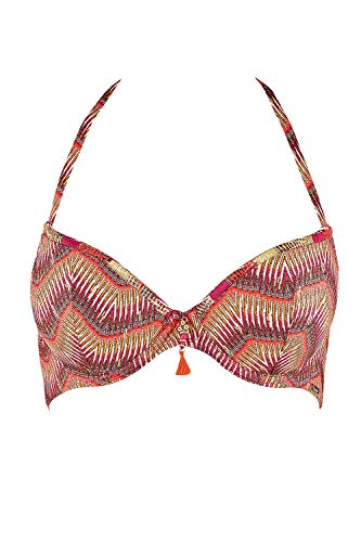 Aubade Bikini Donna Psyche Delices Multicolore ROSEMOSAIQUE Taglia EU: 80C (Taglia FR: 95C)
