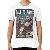 Call to Arms Enlist Today in The Brotherhood of Steel! Unisex T-Shirt, Hoodie, Sweatshirt, Tank for Men Women
