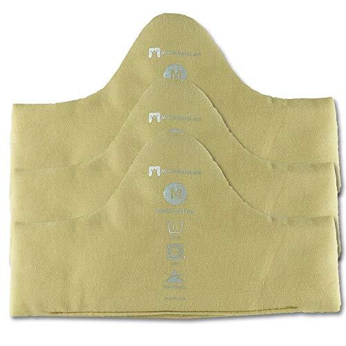 Ultra Soft Bamboo & Cotton Bra Liner (3-pk, L) - No Tags, No Seams, No DIscomfort