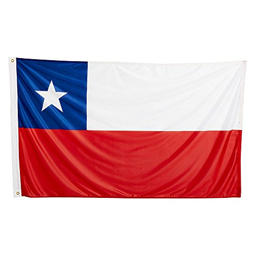 naicasy 90* 150cm Chile Flagge 1Pack