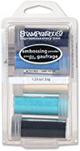 Stampendous Embossing Powder Kit, Submerge, 5-Pack (EK16)