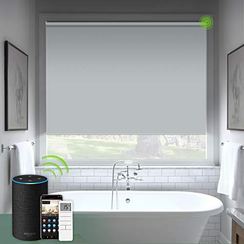 powerful Smart blind shade compatible with Yolux electric blinds for windows with remote control …