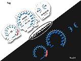 LETRONIX - Discos de tacómetro para coche Civic 92-95 0-220 km/h 9000U/min