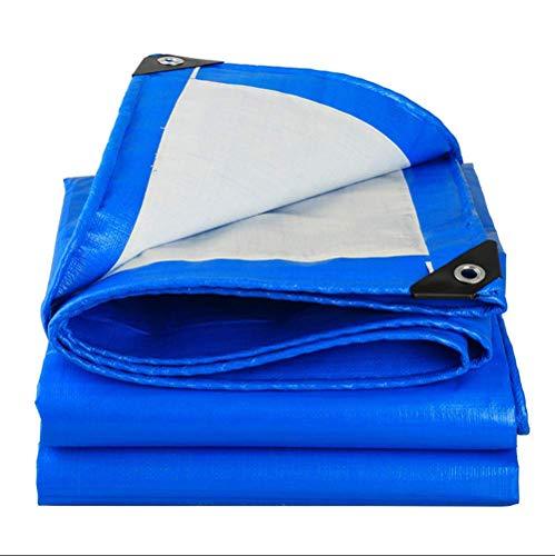 ZMXZMQ high-performance poly-dekzeil, 0,28 mm dik, waterdicht, UV-beschermingshoes voor zeiltent, boot, camper of zwembad