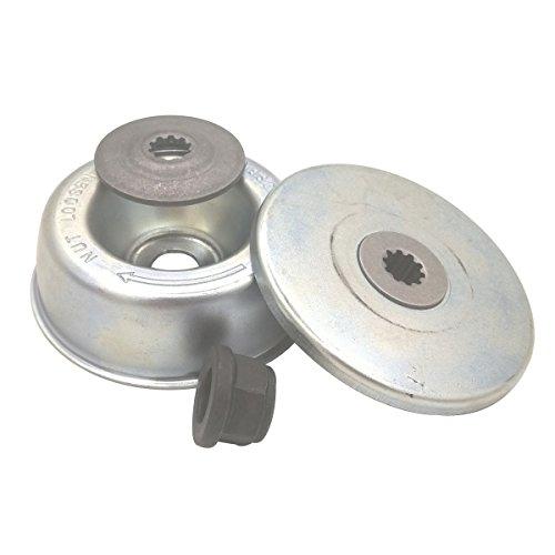 Bundmutter Laufteller, Anlaufscheibe, Getriebekasten, Zubehör für Stihl FS-KM Getriebekopf FS120 FS200 FS250 Rasentrimmer/Motorsense 4 in 1