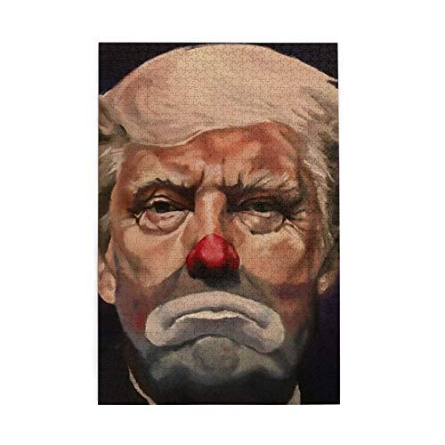 World Clowns Rompecabezas para Adultos Niños 3D cumpleaños Navidad Team Building Educativo Intelectual Descompresión Divertido Juego Familiar