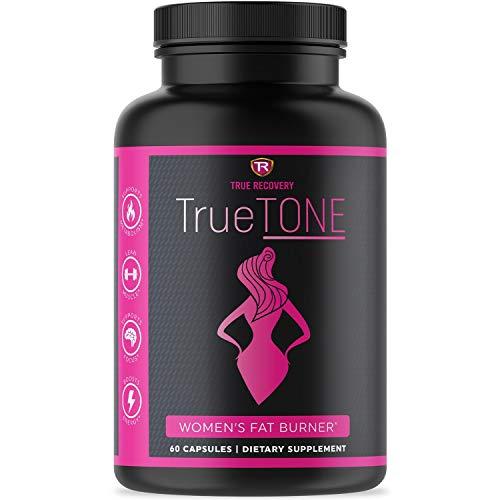 True Recovery TrueTONE Keto Salts Fat Burner for Women -Energy Booster, Muscle Toner, Appetite Suppressant, Weight Loss for Women. Sodium Salts Fat Burner -60 Weight Loss Pills for Women