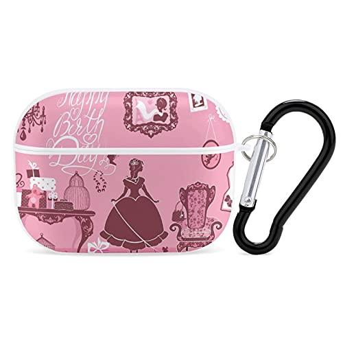 Princess Room with Glamour Accessories - Funda para auriculares con Bluetooth para iPhone AirPods 3, carcasa rígida suave y resistente a las manchas.