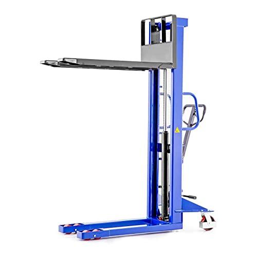 Carrello Elevatore Transpallet Manuale Portata 1,5t / 1500kg Salita 1,6m / 1600mm